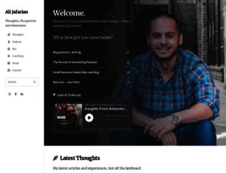 alijafarian.com screenshot