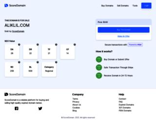 aliklil.com screenshot