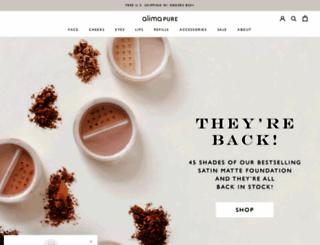 alimapure.com screenshot