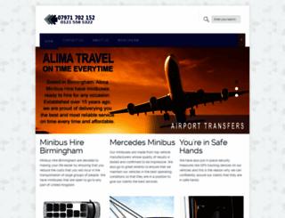 alimatravel.co.uk screenshot