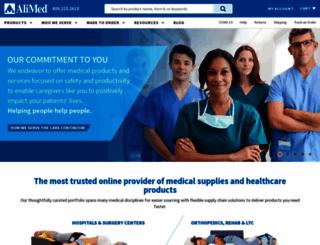 alimed.com screenshot