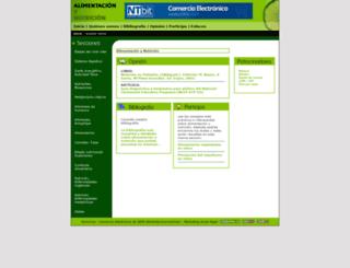 alimentacionynutricion.org screenshot