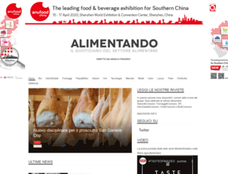 alimentando.info screenshot