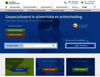 alimentatiedesk.nl screenshot