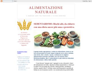 alimentazione-naturale.blogspot.it screenshot