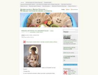 alimentosaudeinfantil.wordpress.com screenshot