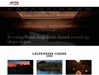 alina.hu screenshot