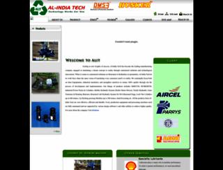 alindiatech.com screenshot