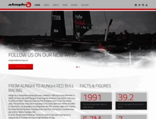 alinghi.com screenshot