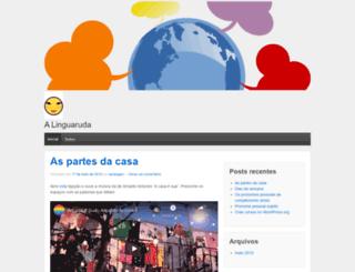 alinguaruda.wordpress.com screenshot
