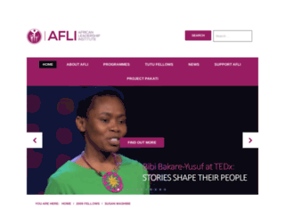 alinstitute.org screenshot