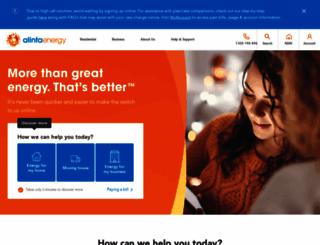 alintaenergy.com.au screenshot