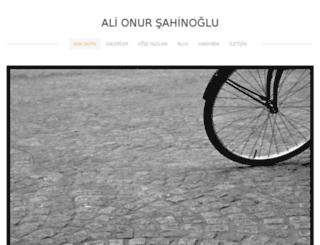 alionursahinoglu.weebly.com screenshot