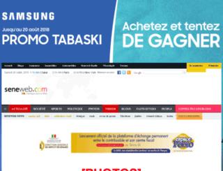 aliounebadara.seneweb.com screenshot
