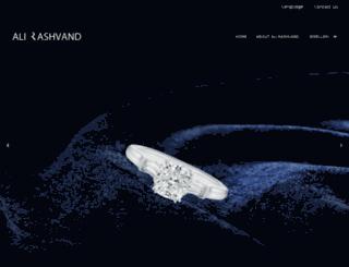alirashvand.com screenshot