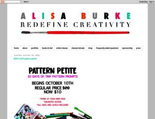 alisaburke.blogspot.in screenshot
