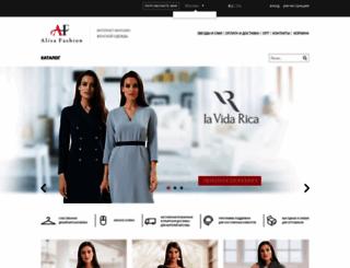 alisafashion.ru screenshot