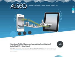 aliseo.topnet.it screenshot