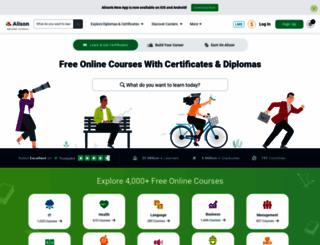 alison.com screenshot
