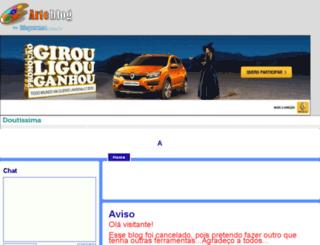 alissonesculturas.arteblog.com.br screenshot