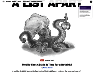 alistapart.com screenshot