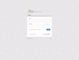 alisteinc.quoteroller.com screenshot