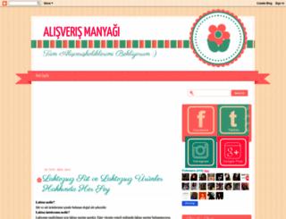 alisverismanyagi.blogspot.com.tr screenshot