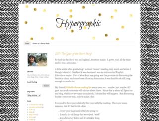 alittlehypergraphia.blogspot.com screenshot