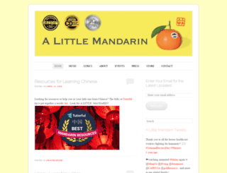 alittlemandarin.com screenshot