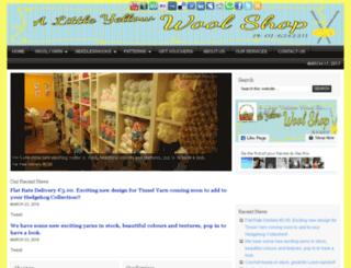 alittleyellowwoolshop.ie screenshot