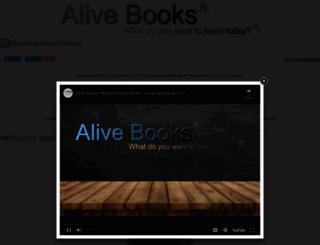 alivebooks.net screenshot