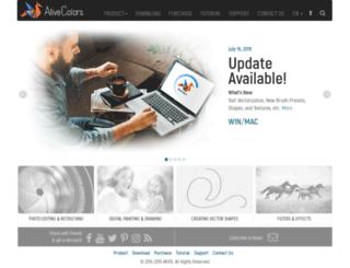 alivecolors.com screenshot