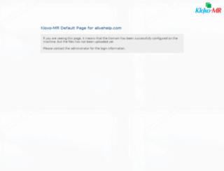 alivehelp.com screenshot