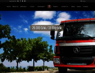 alkanetruckcompany.com screenshot