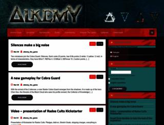 alkemy-the-game.com screenshot