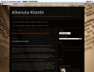 alkenutakistebi.blogspot.com.tr screenshot