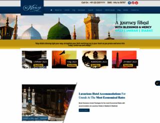 alkhalidtours.com screenshot