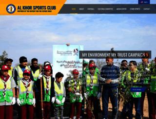 alkhor-club.com screenshot