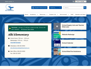 alkies.seattleschools.org screenshot