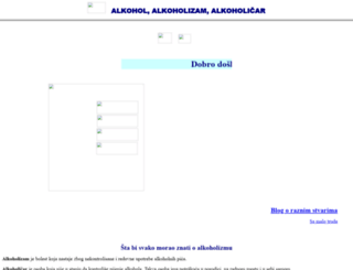 alkoholizam.com screenshot