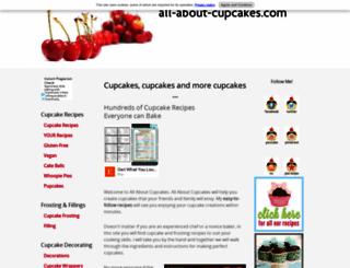 all-about-cupcakes.com screenshot