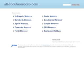 all-aboutmorocco.com screenshot