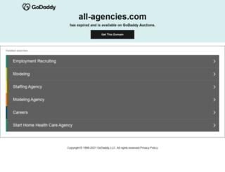 all-agencies.com screenshot