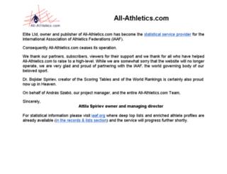 all-athletics.com screenshot