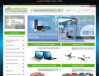 all-batteries.fr screenshot