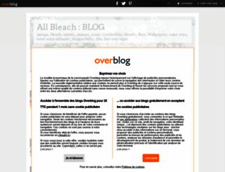 all-bleach.over-blog.com screenshot