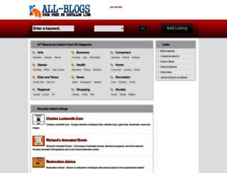 all-blogs.net screenshot