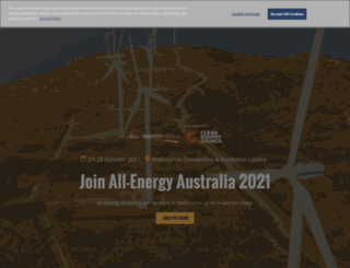 all-energy.com.au screenshot