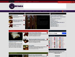all-food.ro screenshot