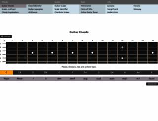 all-guitar-chords.com screenshot